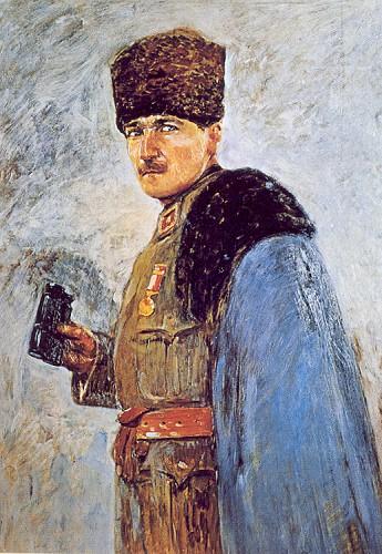 Nazmi Ziya Güran, Atatürk, İstanbul Resim-Heykel Müzesi, 1926.