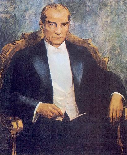 İbrahim Çallı, Atatürk, 1934