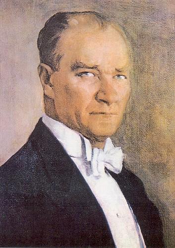 Feyhaman Duran, Atatürk, 1934.