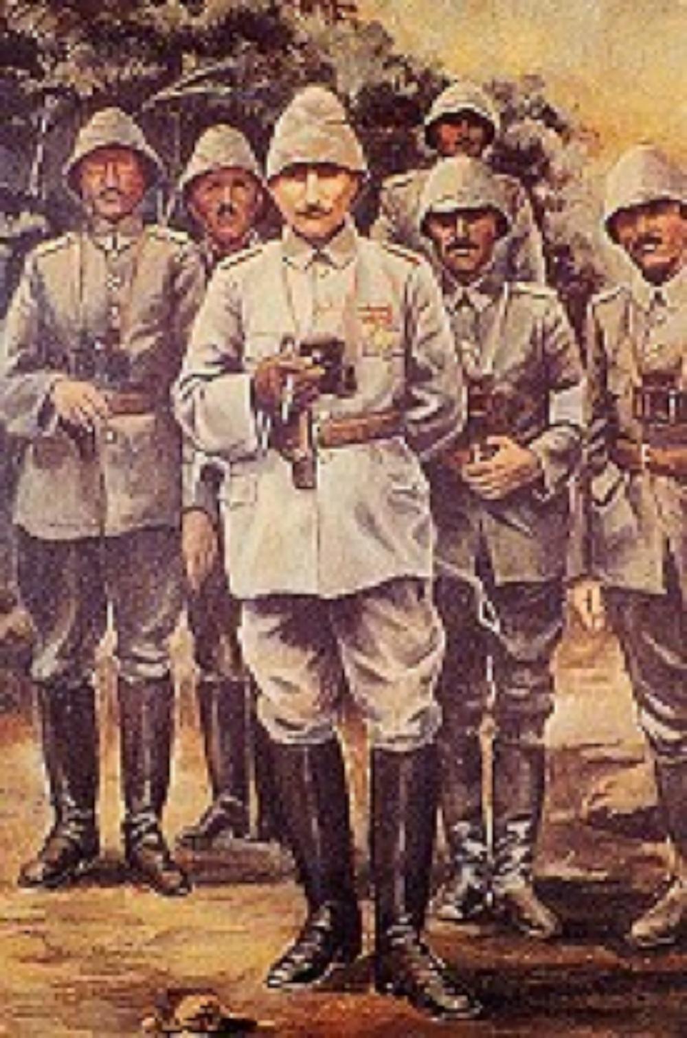 Atatürk Anafartalar'da