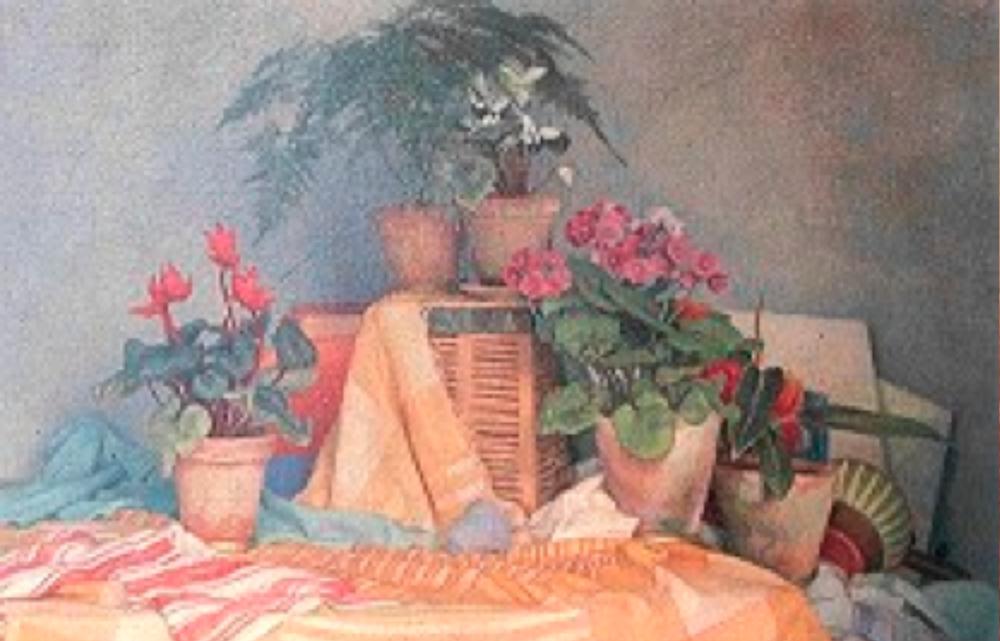 1988 yılındaki müzayedede 45,5 milyon lirayla rekor fiyata satılan ve bir Türk ressamın tablosuna verilen o günün ölçüleriyle en yüksek değere sahip olan natürmort.