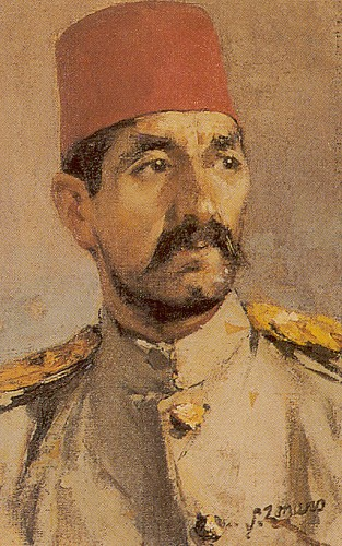 Nazmi Ziya'yı ilk etkileyen Türk ressam Hoca Ali Rıza