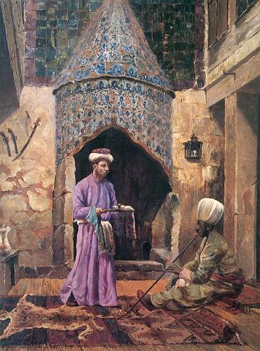 Harem Dairesi, 1917 (İstanbul Resim Heykel Müzesi).