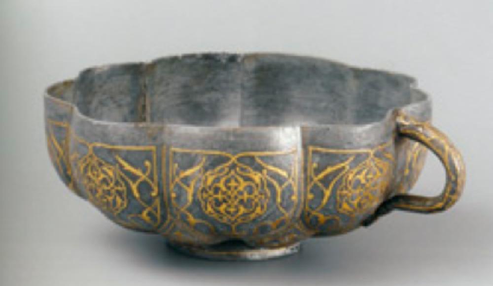 Tutya Su Tası, 16. yüzyılın ilk yarısı, Hint, çap: 15.5 cm, yükseklik: 6.8 cm, T.S.M. 2/2847.