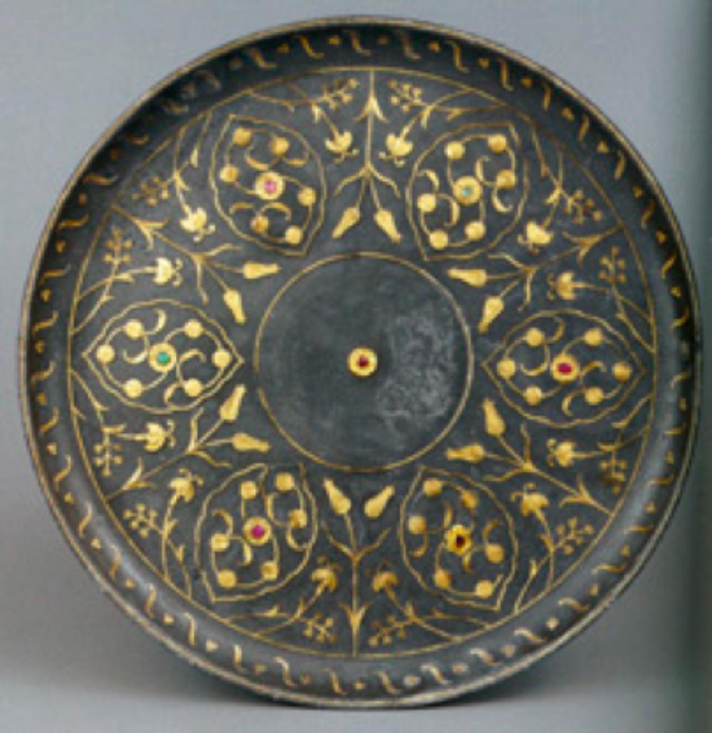 Tutya Tabak, 16. yüzyılın sonu, Osmanlı, çap: 21.9 cm, T.S.M. 2/2844.