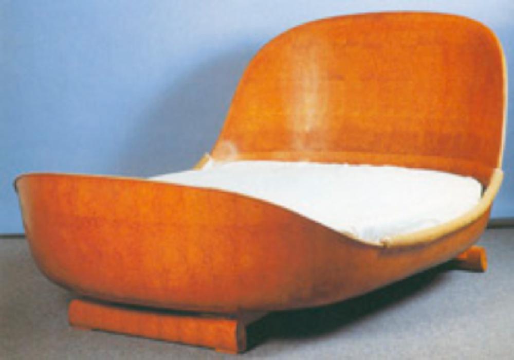 Emile-Jacques Ruhlmann, Art Deco karyola.