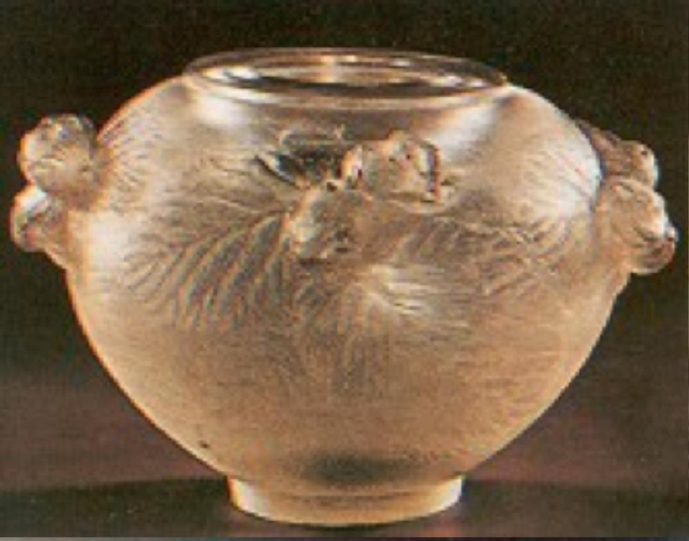 Cire perdue yöntemiyle yapılmış vazo (1905-1910)