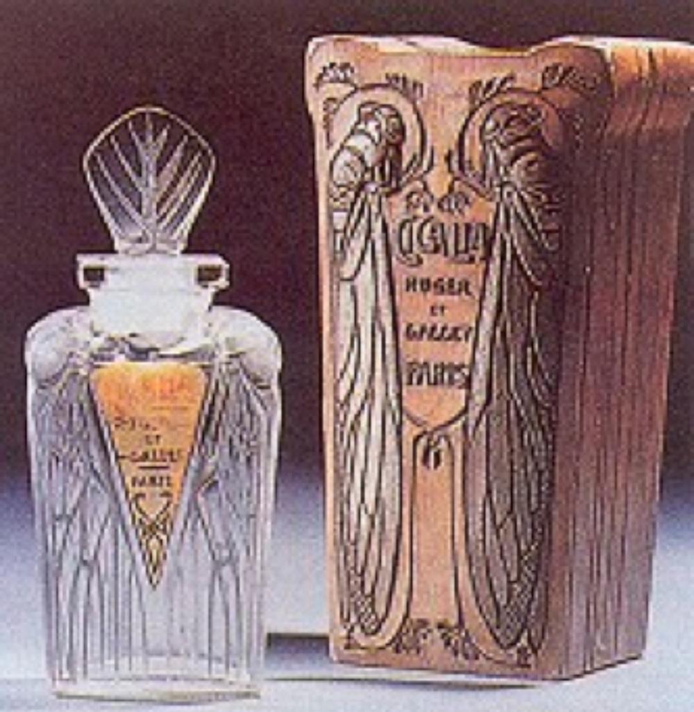 Roger et Gallet firması için üretilmiş parfüm şişesi (1911)