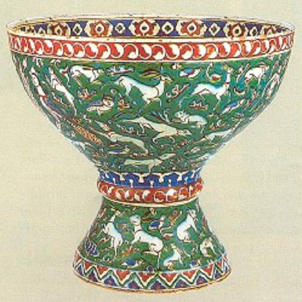 Kutsal su için kullanılan İznik kap