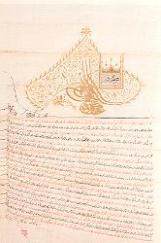 Ferman Sultan II. Mahmud tuğralı H.1228