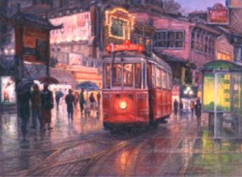 Renklerde Yıkandı Taksim