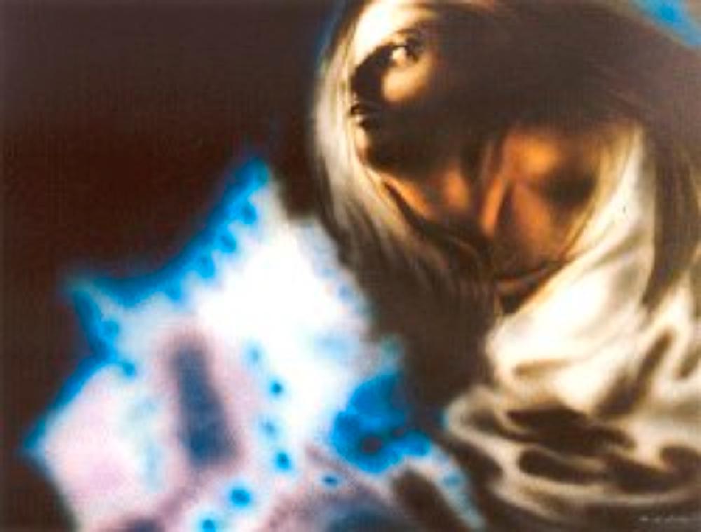 Kabus, karton üzerine akrilik, 1986 Paris, TEM Sanat Galerisi Koleksiyonu
