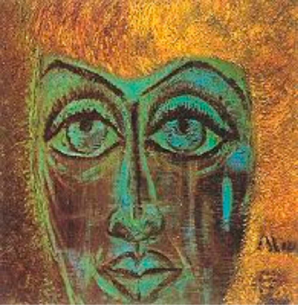 Aliye Berger' in portresi, Fahrünnisa Zeyd