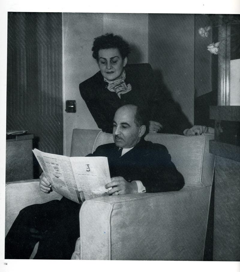 Fahrelnissa Zeid, Prens Zeid'le birlikte.