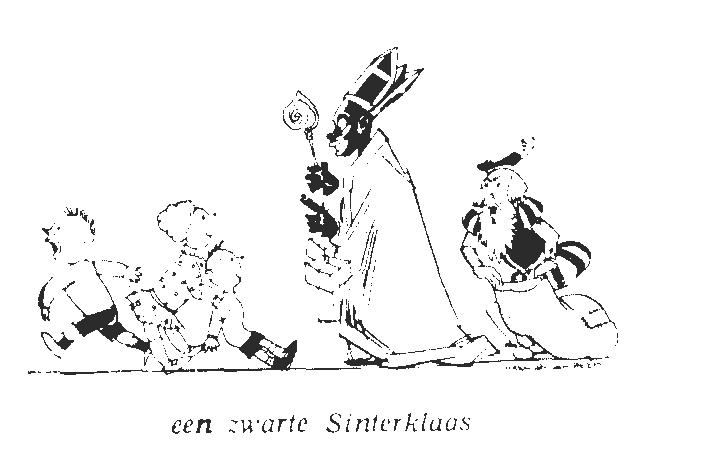 Zwarte Sinterklaas Witte Piet Harmsen van Beek, Melise Stoke Het Citaat