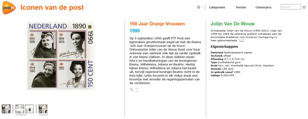 Iconen van de post (www.hetcitaat.nl)
