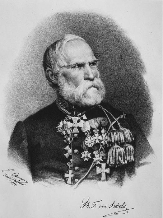 Phillipp Franz von Siebold door Edoardo Chiossone