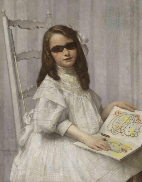 The blind and ungrateful little girl
