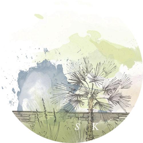 Selma Klophaus Sketching Garden Design