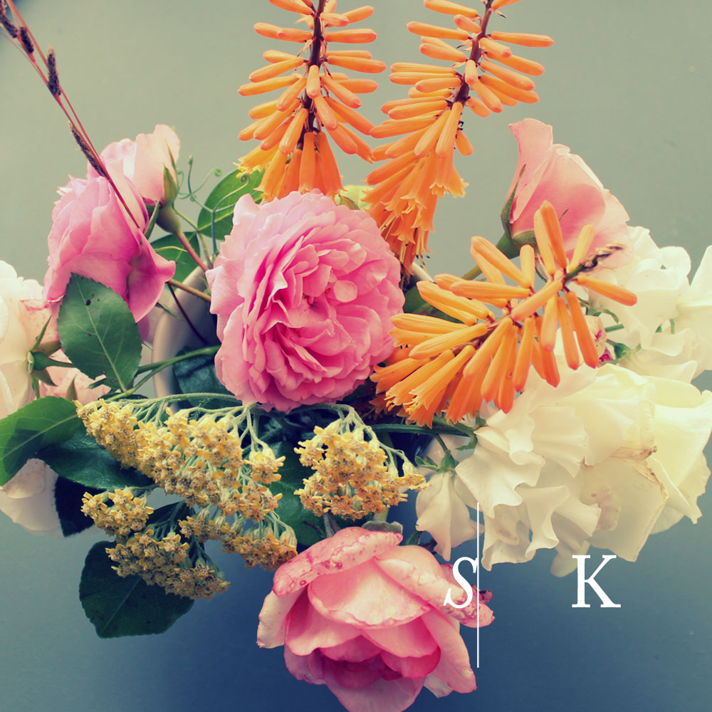 Stunning cut flowers Selma Klophaus Garden Design