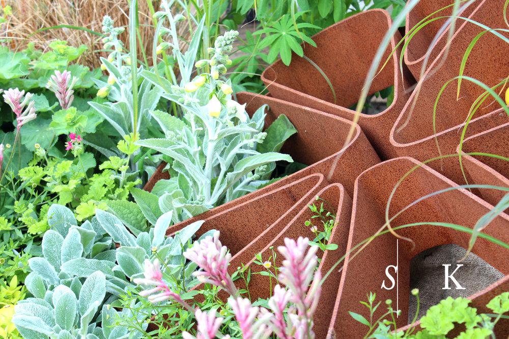 Bespoke Garden Sculptures and Plants in Cornwall Art In a Garden