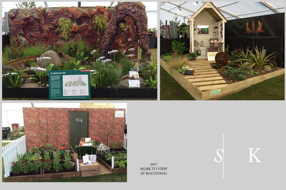 Selma Klophaus Garden Design Show Gardens at Boconnoc
