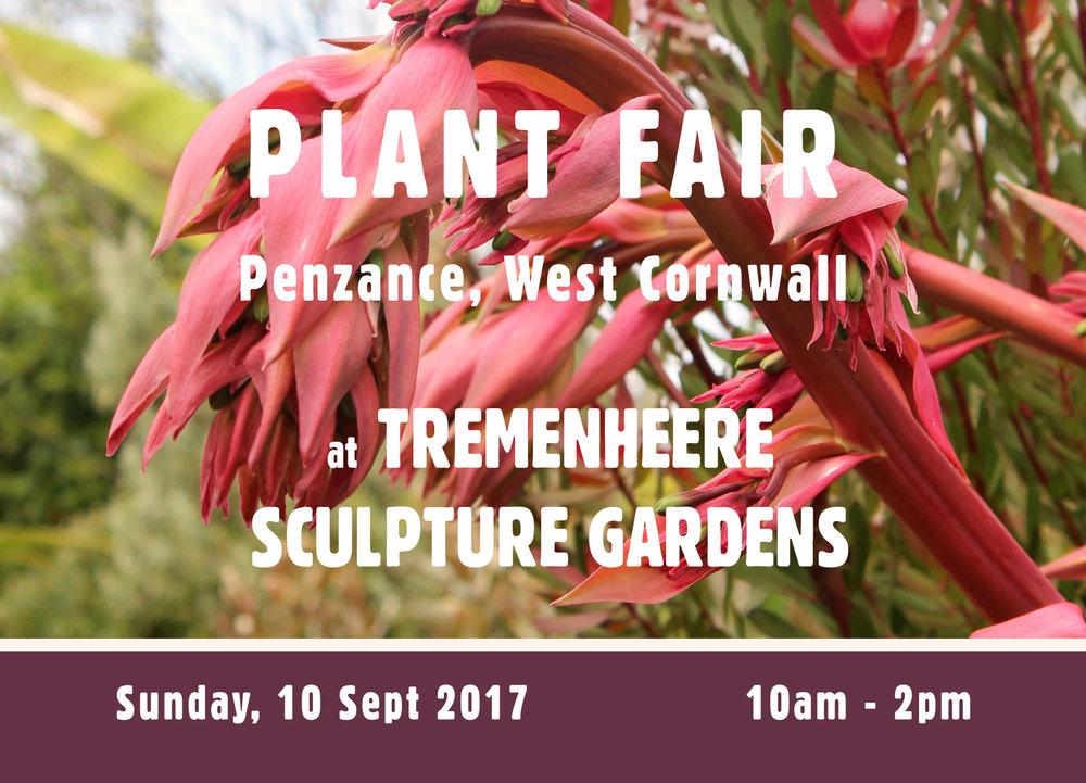 PLANT FAIR at Tremenheere Sculpture Gardens 2017