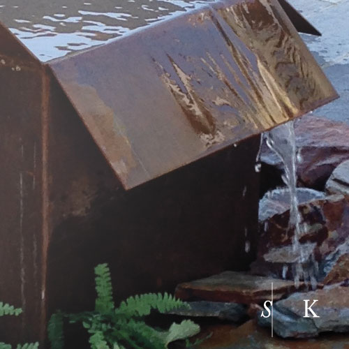 Water feature Bespoke Cornwall