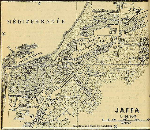 Jaffa Map-1906