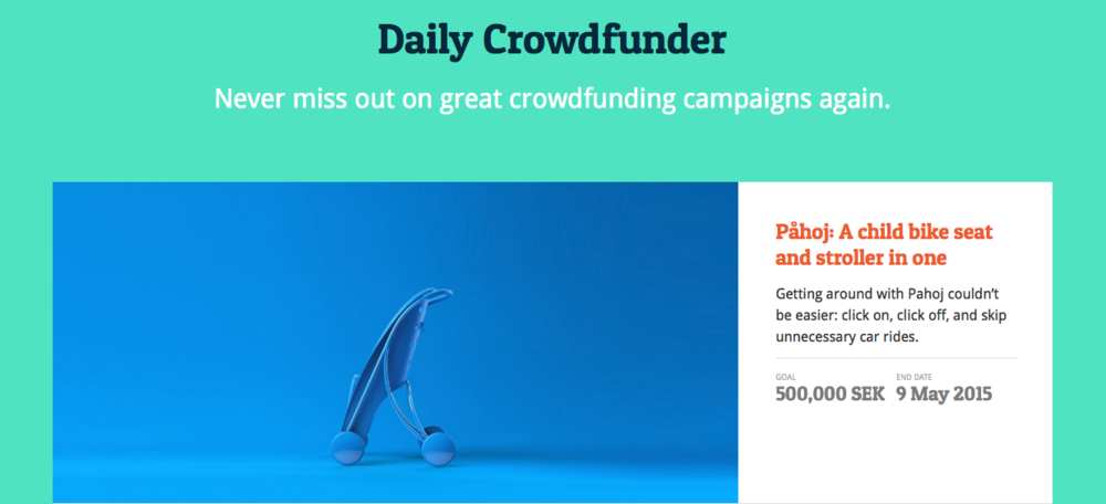 daily crowdfunder