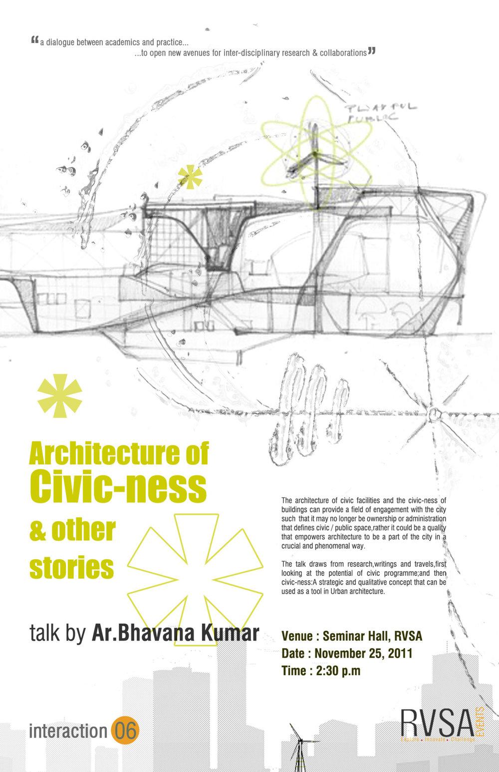 Talk_RV School of Architecture