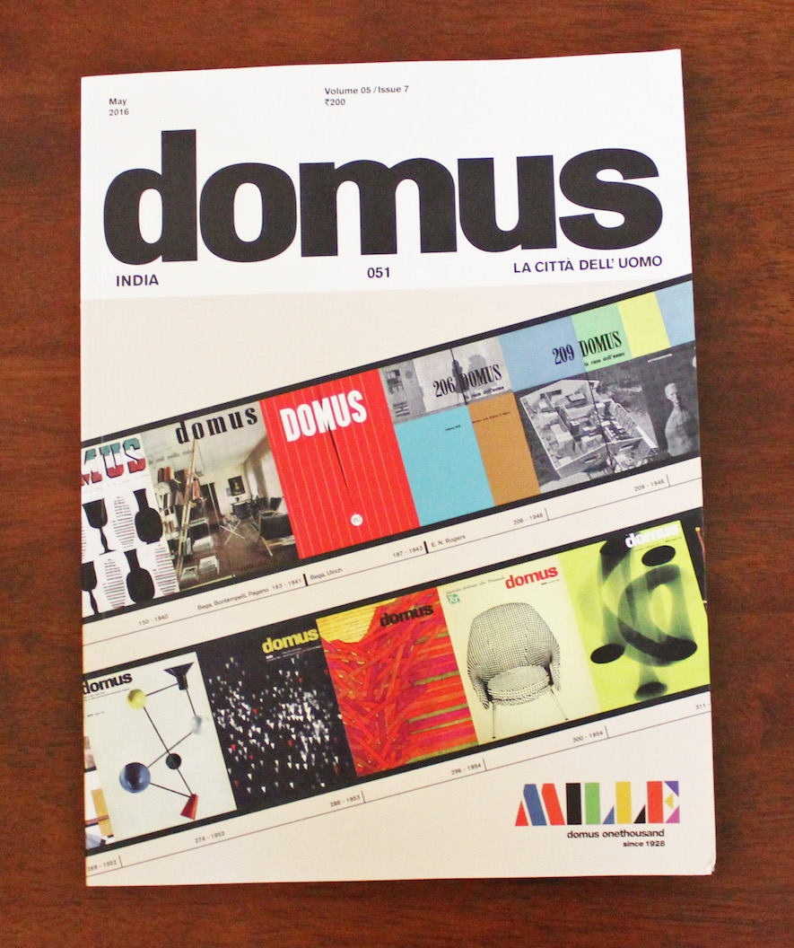 Interview_Domus India,Apr 2016