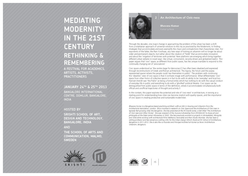Mediating Modernities Conference