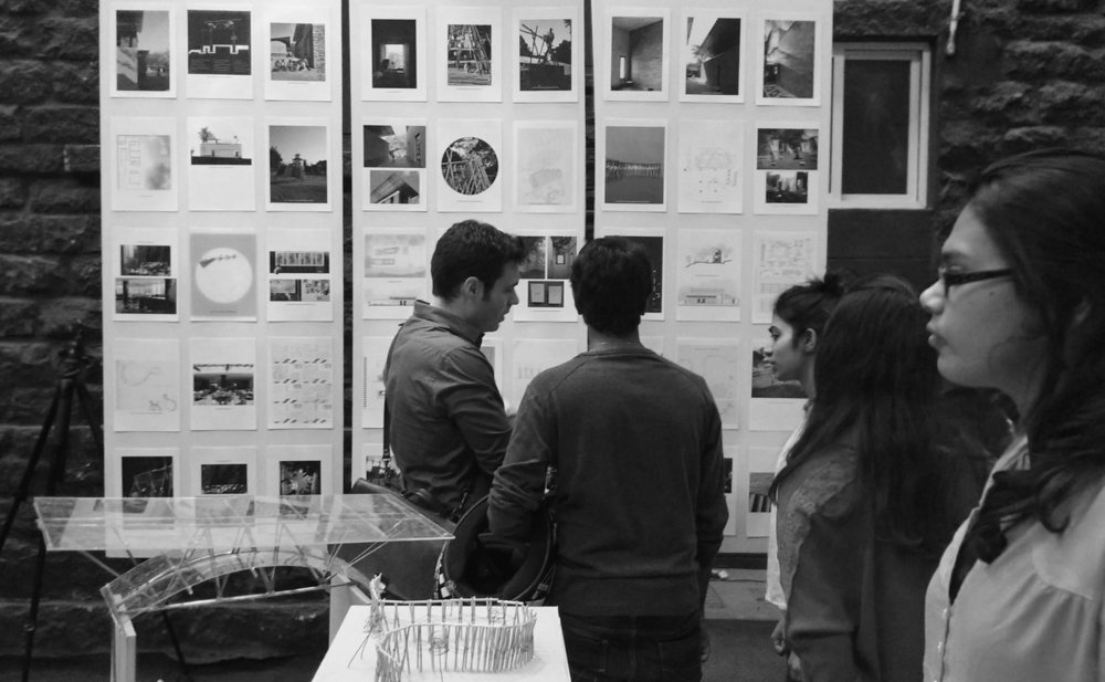 Praxis Exhibition, Indian Institute of Architects, 2016