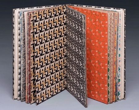 A Specimen Book of Pattern Papers; Curwen Press 1928
