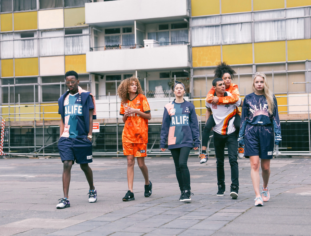 HYPEBEAST - Behind the Scenes of the PUMA x ALIFE Collection Shoot in Shoreditch