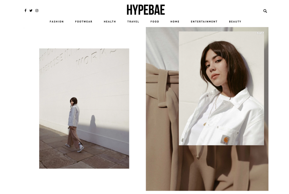 "HYPEBAE - ""Part 2"" - Exclusive editorial is a play on Girly Moods."