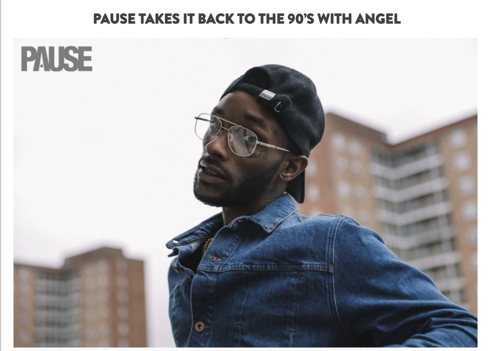 Pause Mag - EXCLUSIVE INTERVIEW: PAUSE MEETS ANGEL