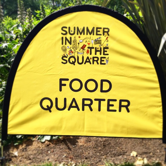The sun is out and we are down at Portman Square today. Surrounded by some great traders and a super cool games area - complete with mini golf and table tennis. Stop by for some icy deliciousness and much needed refreshment on this swelteringly hot day #Portman #summer #heatwave #icepop