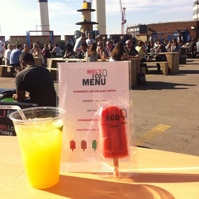 Doing it right @storeyslondon! Sun is shining, cocktails are flowing and lollies are being enjoyed all on the rooftop! #storeysundays #bbctelevisioncentre
