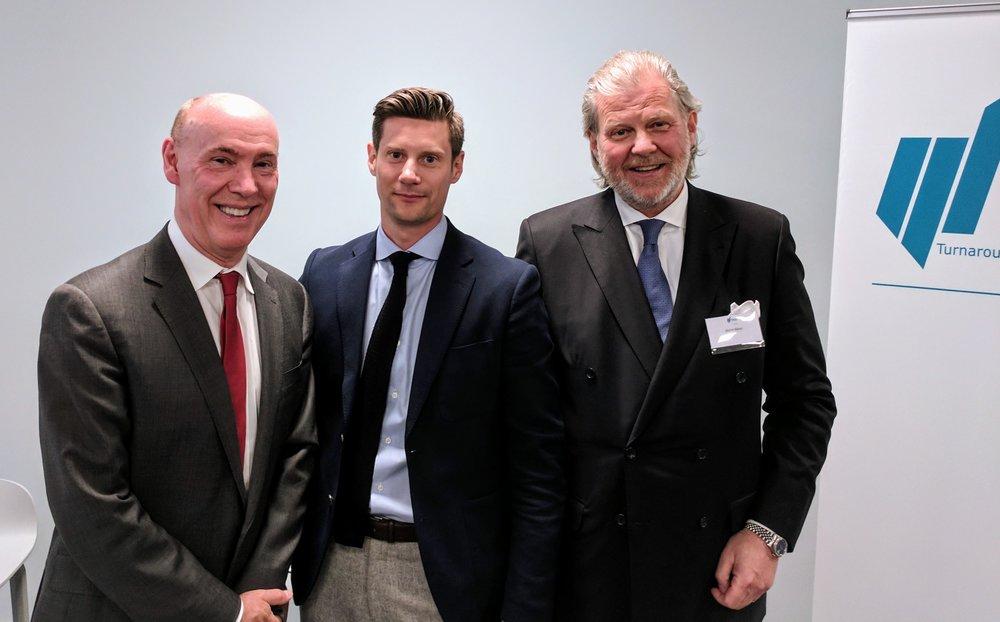 Panelen (från vänster): KG Rickhamre, Hampus KNUTsson och Biörn Riese