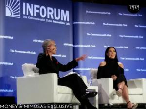 Judge LaDoris Cordell interviews Kim Kardashian-West in San Francisco. 2015. Source: Danetha Doe/Money & Mimosas