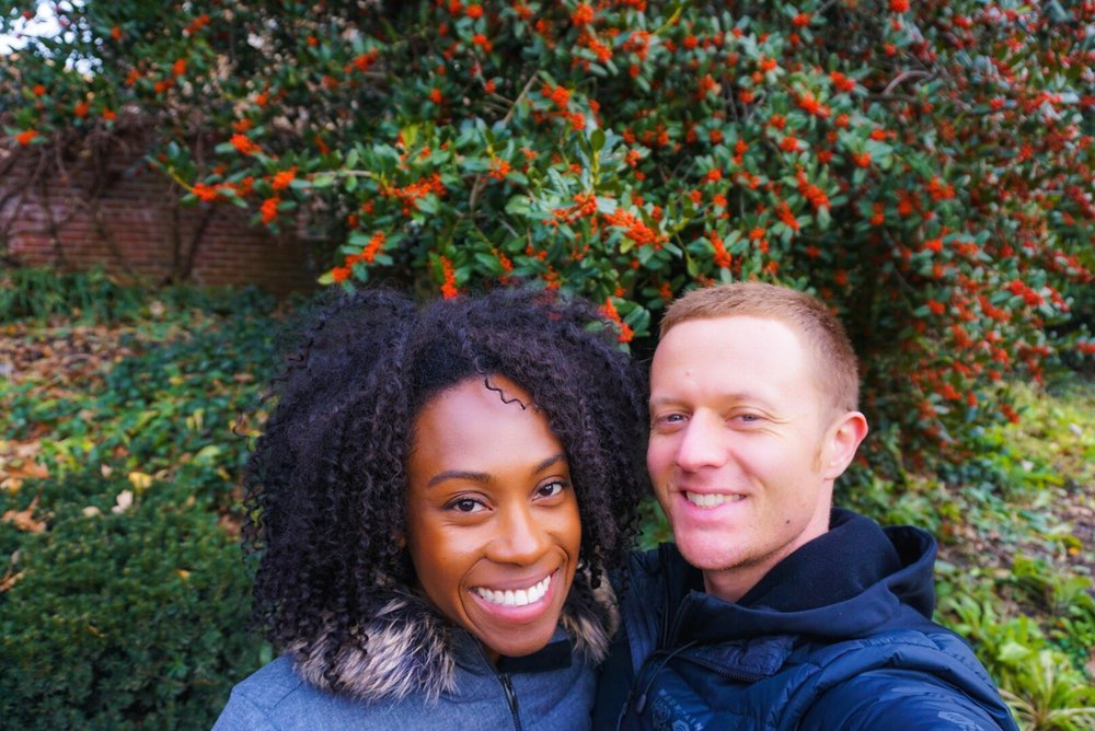 One of the important pieces to my dream lifestyle is being able to travel with my beloved. This is us visiting the Brooklyn Botanical Garden in December. I took the month off to spend quality time with him and for some much needed self-care.