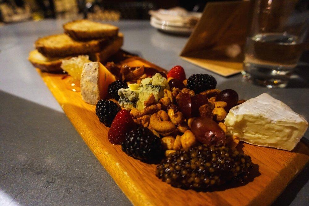 Delicious cheese platter at Panama 66.