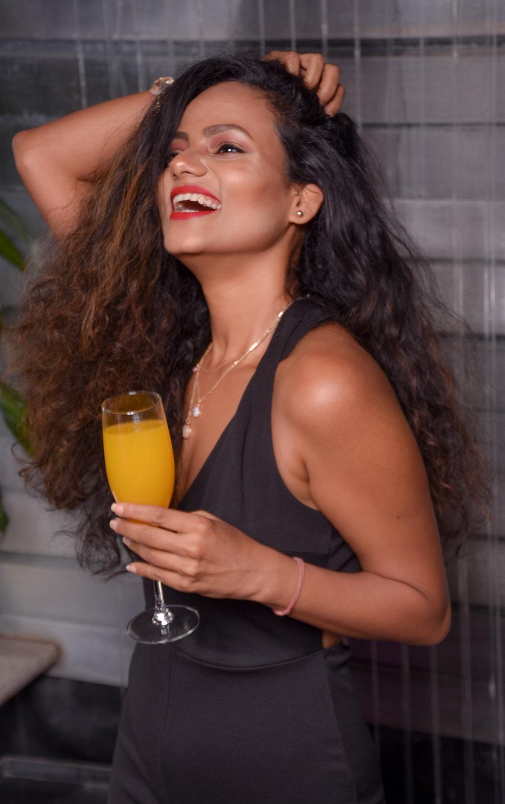 Shalini, Socialite for Money & Mimosas