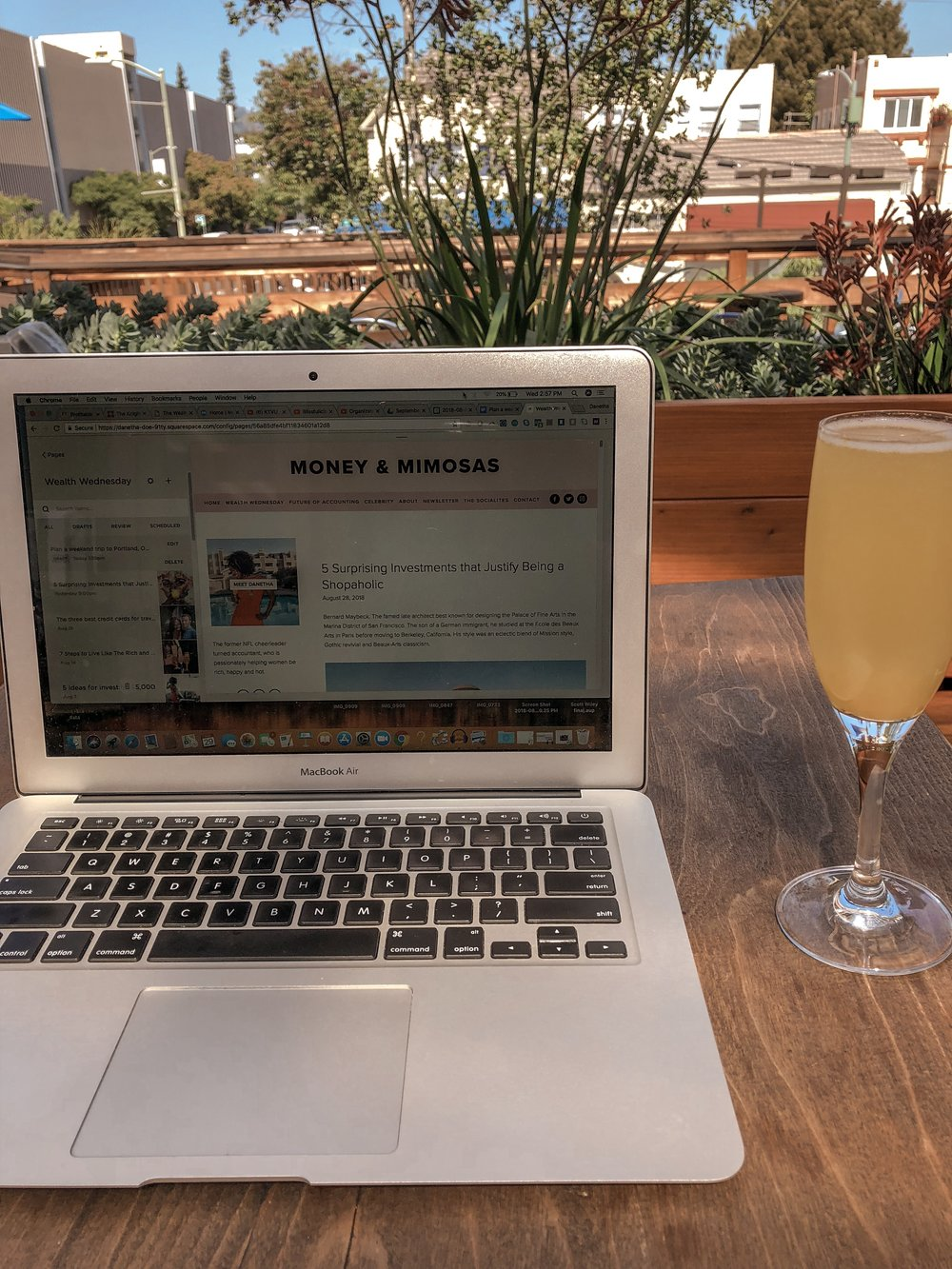 Start a home-based business on Money & Mimosas