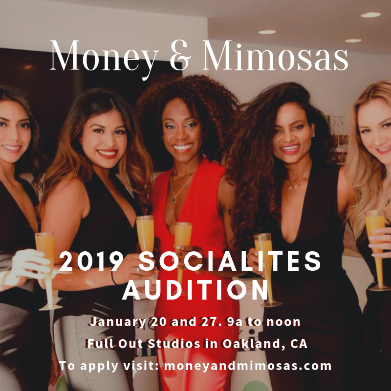 - Women Supporting Women.The Socialites are brand ambassadors for Money & Mimosas. We are a community of ambitious, sophisticated women who believe in living life to the fullest and genuinely supporting other women's dreams.As ambassadors for Money & Mimosas, The Socialites are social butterflies spreading our mission of helping women elevate their self-worth and net-worth.Current City: Walnut Creek, CA. Coming Soon: Los Gatos, CA.Check out our PAST EVENTS and VIDEO COLLABORATIONS.