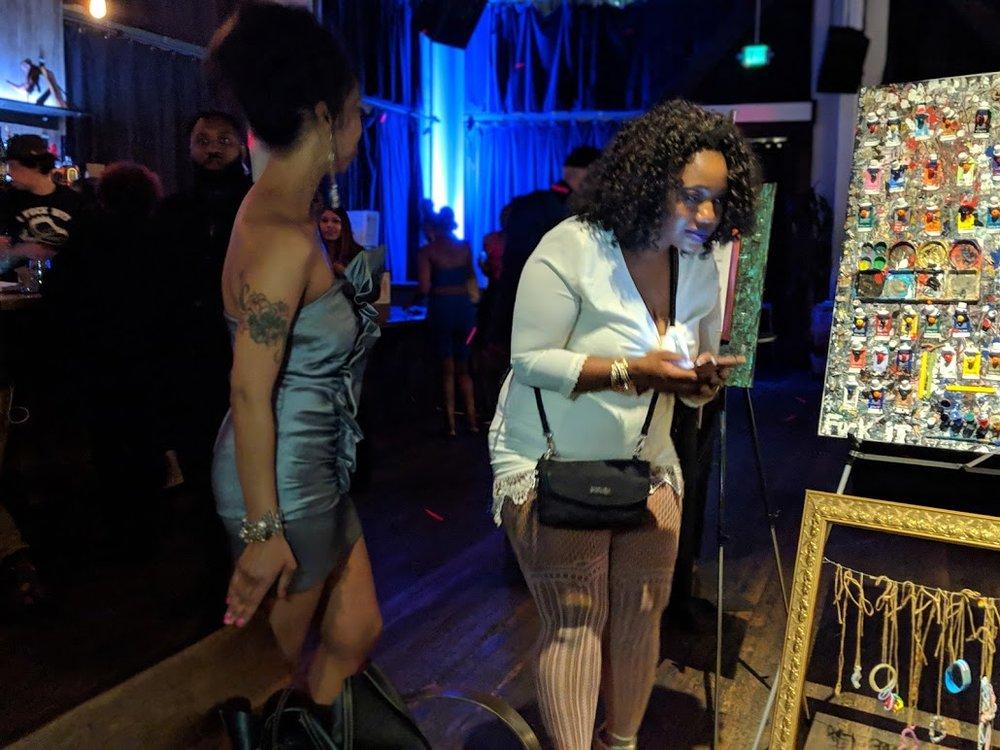 Everyone was loving Vanita's work.