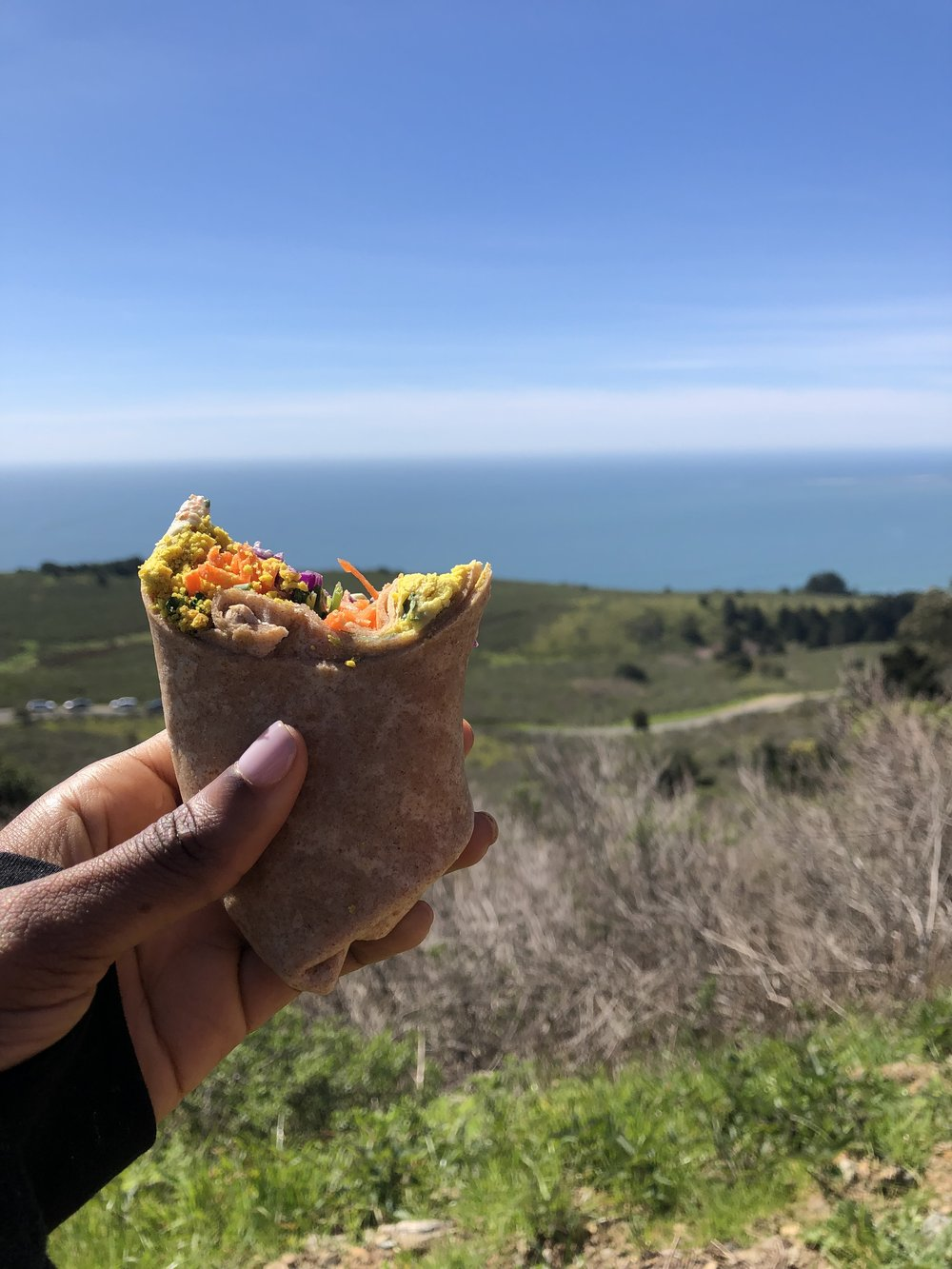 After the hike, we drove a quick 5 minutes to a spot to have a picnic lunch.