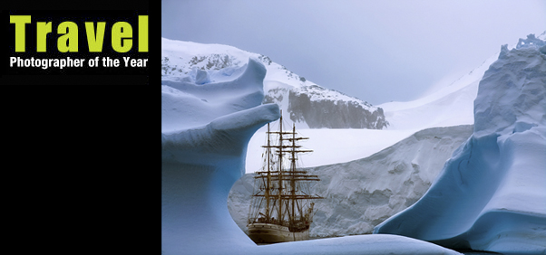 """Feeze Frame - Recon you could do better? Rene Koster's shot of the tall ship Europa gracefully skimming the waters of Antarctica scooped second prize in the ' Iconic ' section of the  Travel Photographer of the Year  competition."" -  Sunday Times Traveler"